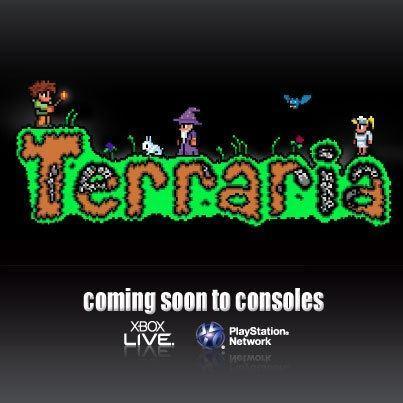 Terraria для PSN и XBLA